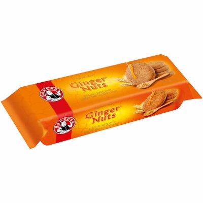 BAKERS GINGER NUTS 200GR