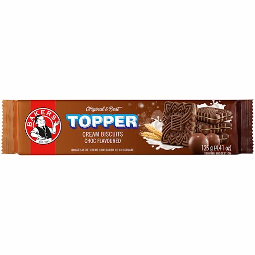 BAKERS TOPPER CHOCOLATE 125GR