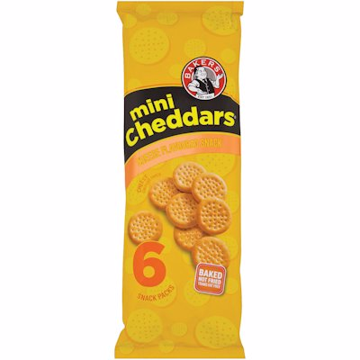 BAKERS MINI CHED CHEESE 198GR