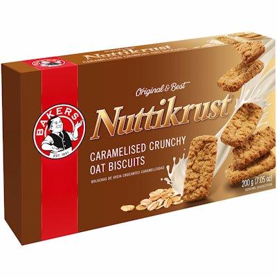 BAKERS NUTTIKRUST ORIGIN. 200GR