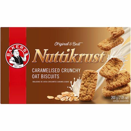 BAKERS NUTTIKRUST 200G