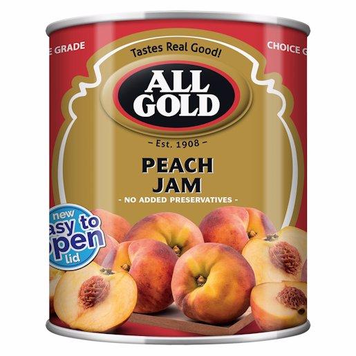ALL GOLD JAM PEACH SMOOTH 450G