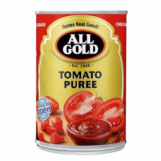 A/GOLD TOMATO PUREE 410G