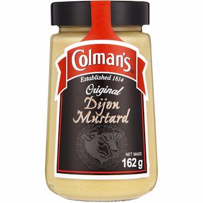 COLMAN'S MUSTARD DIJON 162G