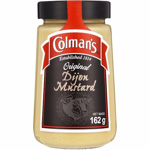 COLMANS DIJON MUSTARD 162G