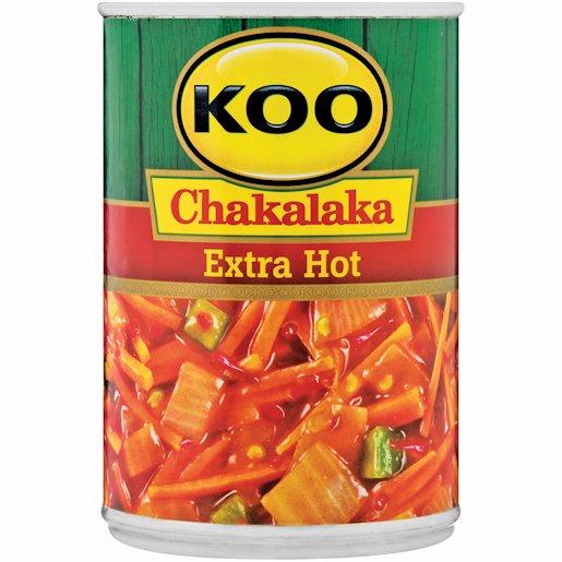 KOO CHAKALAKA EXTRA HOT 410GR