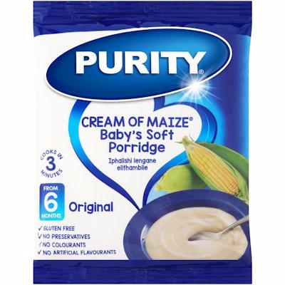 PURITY CREAM OF MAIZE BABY'S SOFT PORRIDGE 400G
