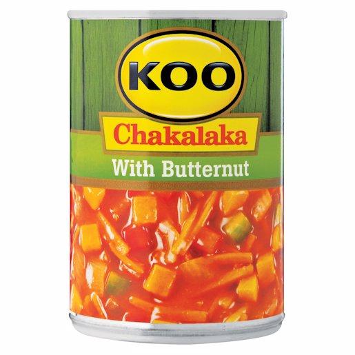 KOO CHAKALAKA WITH B/NUT 410GR