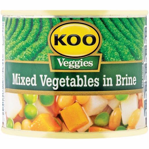 KOO MIXED VEGETABLES KVI 215G