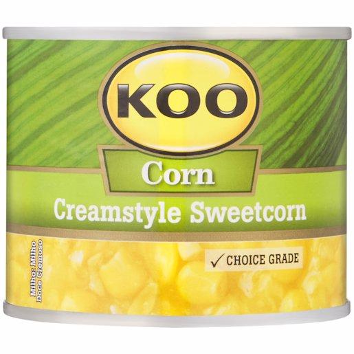 KOO SWEETCORN CREAMED KVI 215G