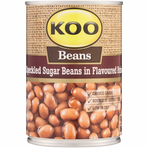 KOO CANNED SUGAR BEANS 410G