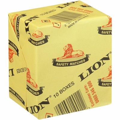 LION MATCHES 1'S