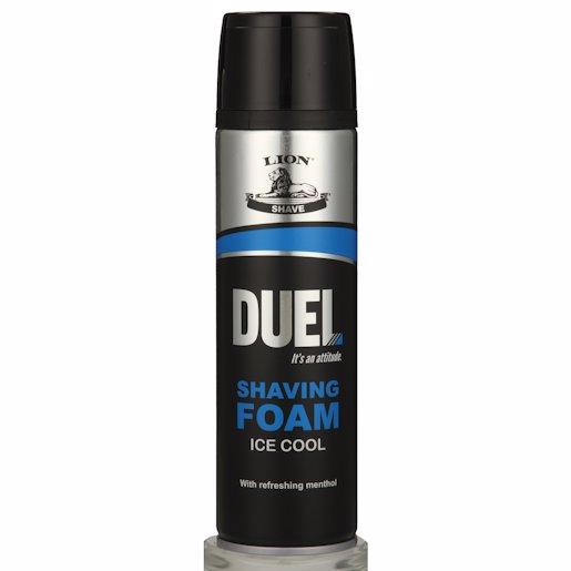 DUEL ICE COOL SHAVG FOAM 200ML