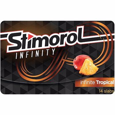 STIMOROL GUM INF TROPICAL 27GR