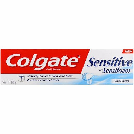 COLGATE T/P SENSIFOAM WTE 75ML