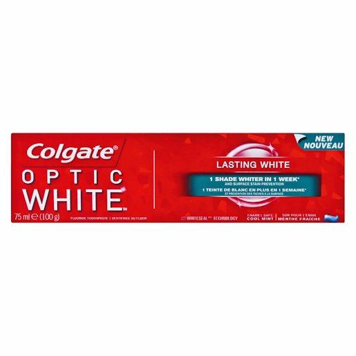 COLGATE T/P OPTIC WHT LAS 75ML