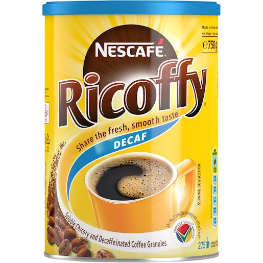 RICOFFY CAFEEN FREE INST 750G