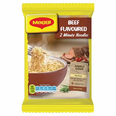 MAGGI 2 MINUTE NOODLES BEEF FLAVOURED 73G