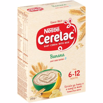 CERELAC NO 1 BANANA 250GR