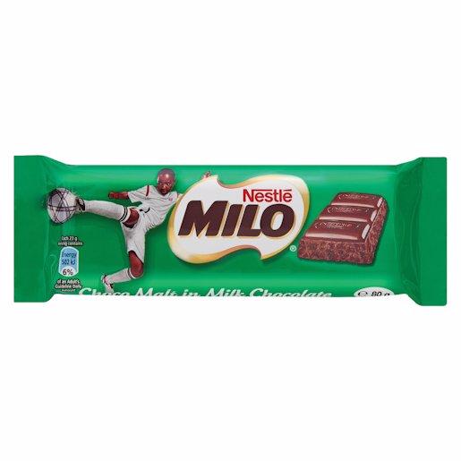 NESTLE MILO CHOCOLATE BAR 80GR 80GR