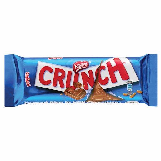 NESTLE CRUNCH CHOCO BAR 80GR