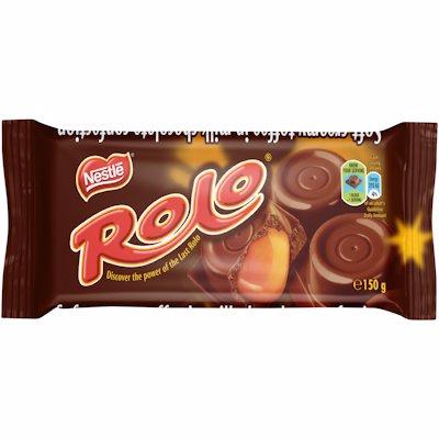 NESTLE ROLO BAR CHOCOLATE 150GR