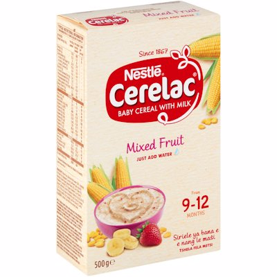 CERELAC BABY CEREAL WTH MILK MIXED FRUIT 500G