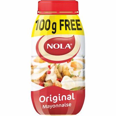 NOLA MAYONNAISE ORIGINAL 850GR