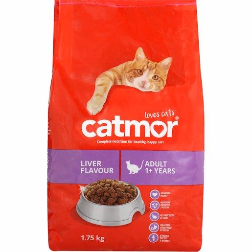 CATMOR ADULT C/FOOD LIVER 1.75K
