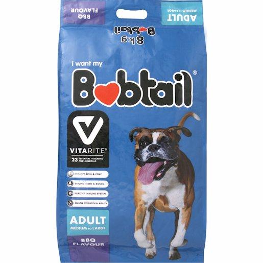 BOBTAIL D/FOOD MED/LRG BQQGRILL 8KG