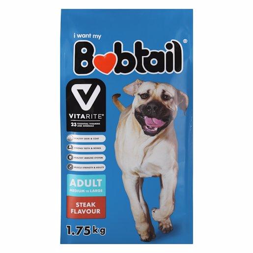 BOBTAIL D/FOOD M/L STEAK 1.75K