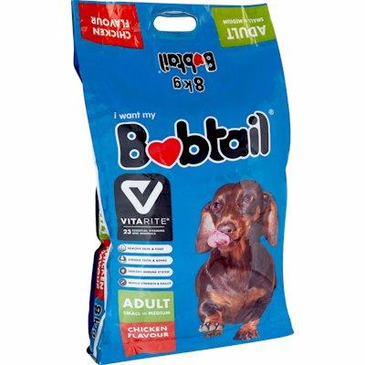 BOBTAIL SML/MED CHICKEN 8KG