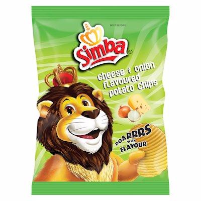 SIMBA CHEESE & ONION 125G