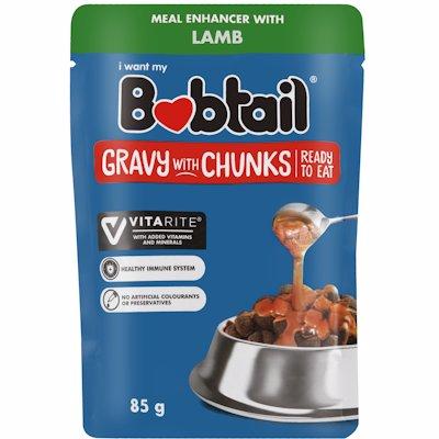 BOBTAIL GRVY/CHNKS LAMB 85GR