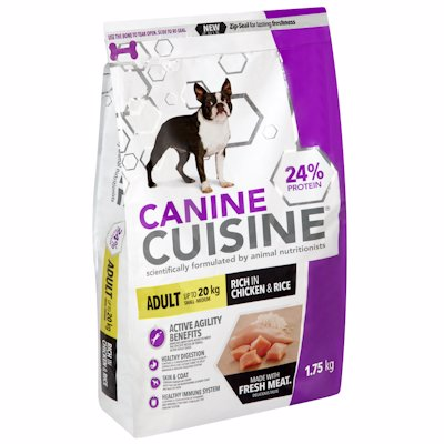 CANINE CUISINE SML CH&RC 1.75K