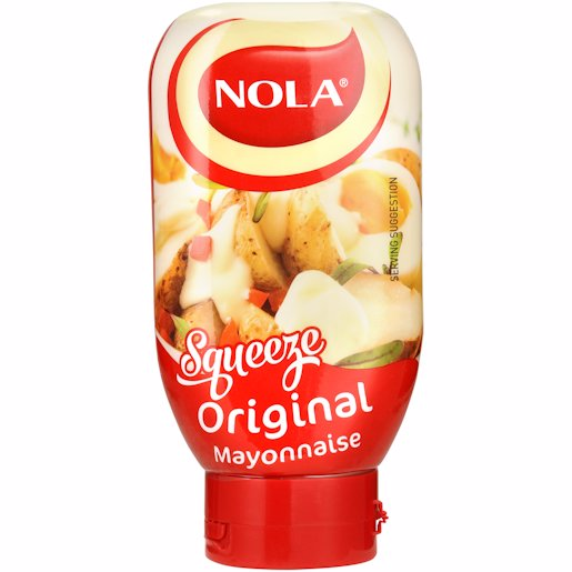NOLA MAYONNAISE SQUEEZE 500GR