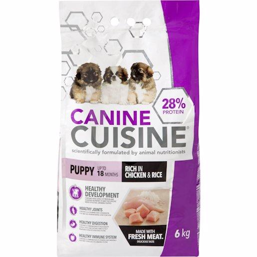 CANINE CUISINE PUP CHI&RI 6KG
