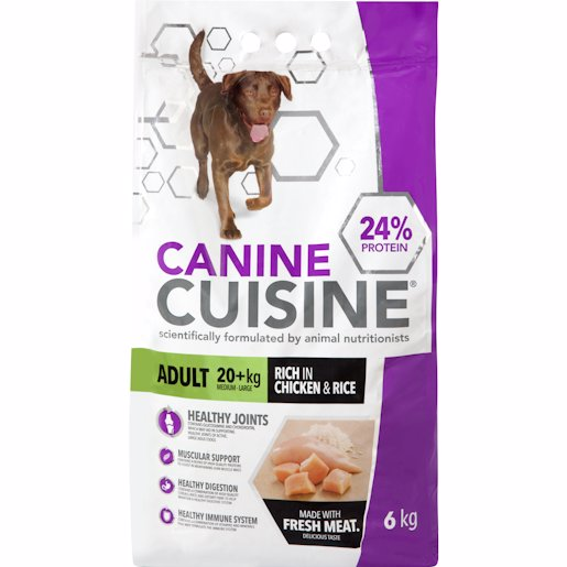 CANINE CUISINE ADT L CHI& 6KG