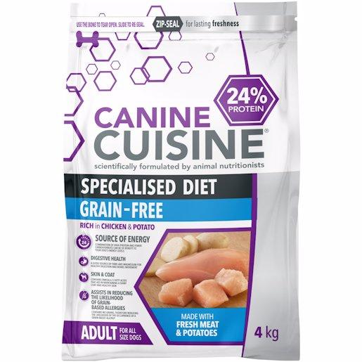 CANINE CUISINE CHIC&POT 4KG