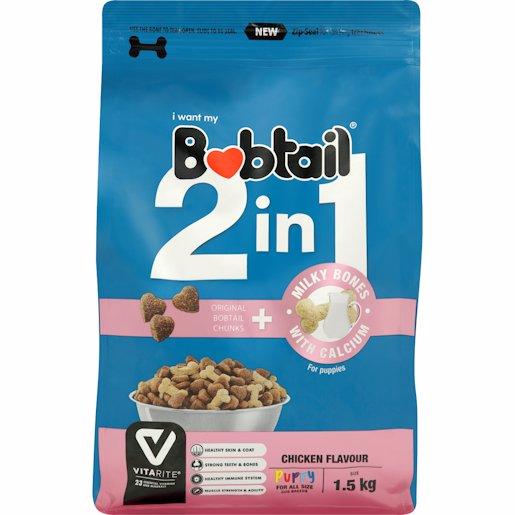 BOBTAIL PUP CHIC M/BONE 1.5KG