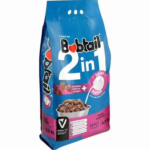 BOBTAIL ADLT STEAK GRAVY 6.5KG