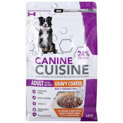 CANINE CUISINE GRAVY COAT 1.5KG