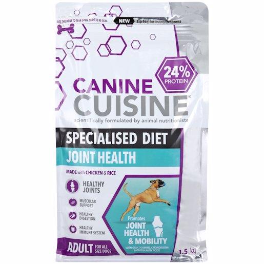 CANINE CUISINE J/HEALTH 1.5KG