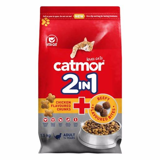 CATMOR ADLT CHIC C/BEEFY 1.5KG