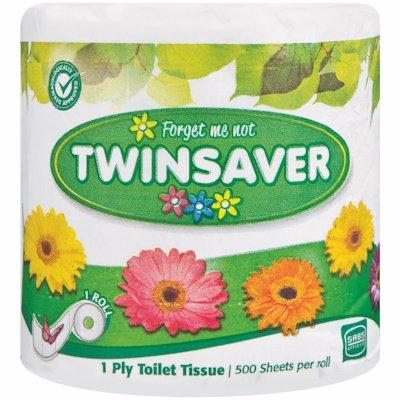 TWINSAVER 1PLY WHITE 1'S