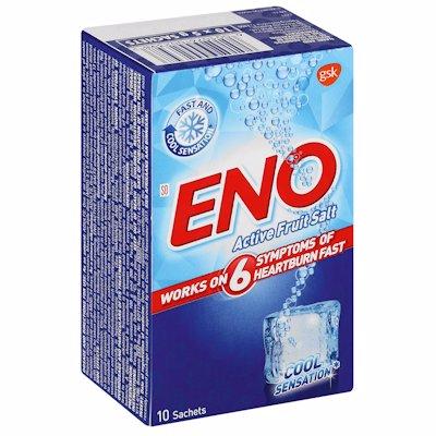 ENO ACTIVE FRUIT SALT COOL REGULAR 10'S
