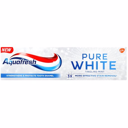AQUAFRESH P/WHT TING MINT 75ML