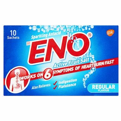 ENO ACTIVE FRUIT SALT REGULAR 10'S