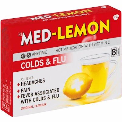 MED LEMON H/MEDICATION 8'S