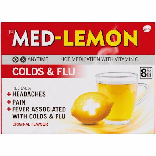 MED LEMON MEDICATED 8'S